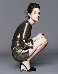 Marion Cotillard in Dior PF15, photographed by Jan Welters for Dior, 2014.