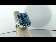 Aquamarine Ring Boca Raton - aquamarine jewelry - http://jewellery.chitte.rs/anklets/aquamarine-ring-boca-raton-aquamarine-jewelry/