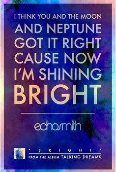 Echosmith~Bright