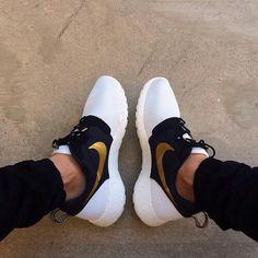 White Nike shoes for men
