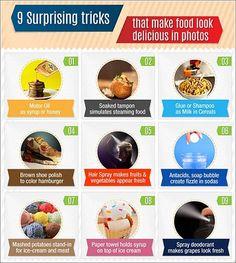 El engañoso arte empleado en las imágenes de comida en los anuncios