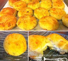croquettes de pomme de terre au fromage