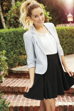 Take a bow in classic black and white. #LCLaurenConrad #Kohls