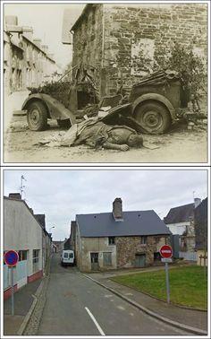 Soldato Tedesco ucciso a Barenton Normandia Agosto1944 rue du docteur Augier #NORMANDIA1944