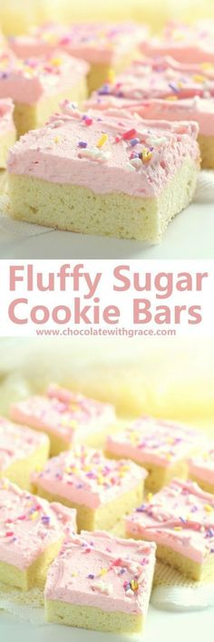 Easy sugar cookies? Way easier than traditional cookies. Make sugar cookie bars instead.