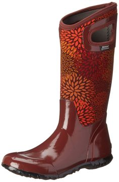 Bogs Women's North Hampton Floral Waterproof Insulated Boot * Read more reviews of the product by visiting the link on the image.