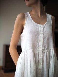 Linen summer dress