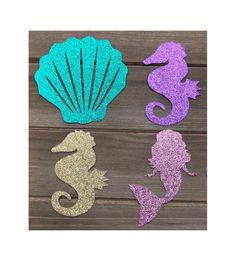 Under the sea cutouts / Candy Bags / DIY Mermaid Birthday Decorations, Mermaid Theme Birthday, Girls Birthday Party Themes, Little Mermaid Birthday, Little Mermaid Parties, Mermaid Crafts, Mermaid Diy, Couple Halloween Costumes For Adults, Couple Costumes