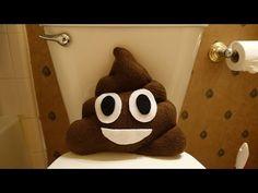 Easy Poop Emoji Pillow Tutorial