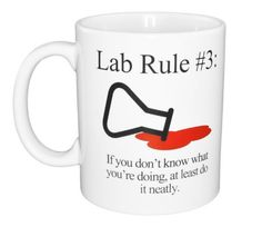 Funny Science Chemistry ceramic coffee or tea mug. Would be great for my cousin-in-law