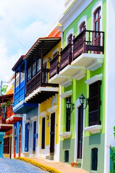 I love the buildings here...San Juan, Puerto Rico