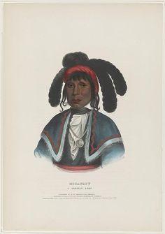 Micanopy. A Seminole chief