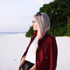 I styled up the most beautiful Maje leather biker jacket and offered a few other outfit ideas for this gorgeous piece over on inthefrow.com