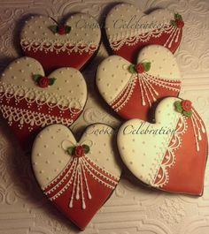 Red and White Valentines | Cookie Connection