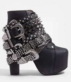 The Jeffrey Campbell Silver Belted Lita is Fiercely Feminine trendhunter.com