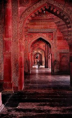 Arabic Arches. Gorgeous color and design.