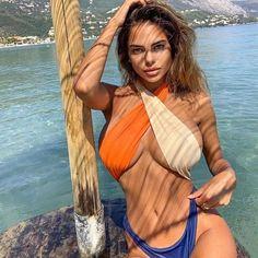 Brasilianischer Bikini, Sexy Bikini, Bikini Girls, Mädchen In Bikinis, Monokini Swimsuits, Women's One Piece Swimsuits, Women Swimsuits, Sexy Women, Suits Women