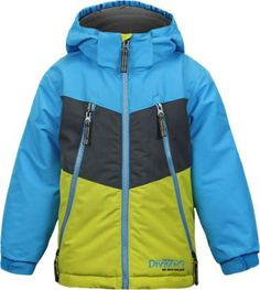 Snow Dragons Boy's Pluto Insulated Jacket Surf Blue 7