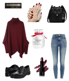 """""""Untitled #96"""" by fireproof12 ❤ liked on Polyvore featuring moda, River Island, Dr. Martens, MICHAEL Michael Kors, Forever 21 e Victoria's Secret"""