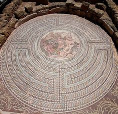 Mosaics at the House of Theseus (Archaeological Site) in Paphos, Cyprus | by…