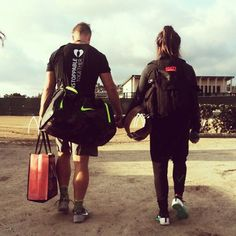 The best is yet to come.    Invictus Athletes and CrossFit Power Couple Rasmus Andersen and Lauren Fisher.