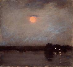 1910-again: Edward Steichen, Moonlit Landscape, 1903...... I can't put my finger…