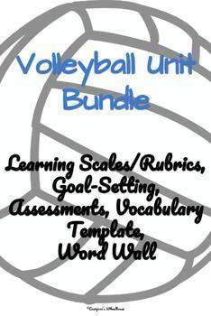 43 best teacher evaluation lesson plan ideas images on pinterest in 2018 Art Teacher volleyball unit bundle teacher evaluation learning goals physical education