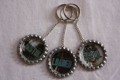 "Max Henry's ""Banjaxed"" bookcover Key rings... Pistol, Loaded & Recoil  https://www.facebook.com/MaxHenryAuthor"