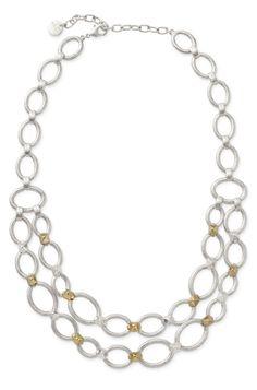 Stella & Dot Marnie Link Necklace