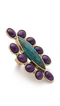 Gemma Redux Multi Stone Cocktail Ring | SHOPBOP