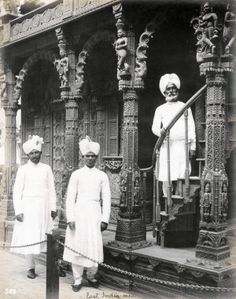 """East India Men."" (Indian men in the Mysterious Asia section of the Pike at the 1904 World's Fair]."