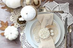 Table setting-dollar store lace doilies (NOT the paper ones) as placemats? Or, we and others could scour flea markets and wholesale shops for a more eclectically vintage feel...