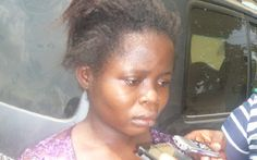 WELCOME TO BLOGSNIGERIA       : 25 YEARS OLD BABY TRAFFICKER  ARRESTED IN LAGOS