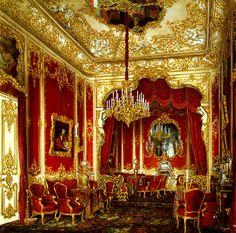 peterhof palace interior   File:Hau. Interiors of the Winter Palace. The Boudoir of Empress Maria ...