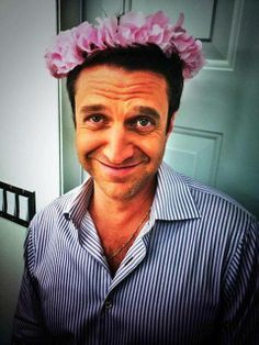 Just got into Hannibal and now I have a huge crush on Raul Esparza. :)