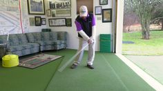 Ted Sheftic shows us how to create lag in this free golf training video.