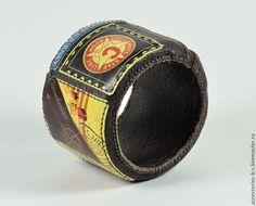 """Купить Браслет Кожанный """"Морячка"""" - разноцветный, Браслет ручной работы, браслет кожаный, браслет для девушки"""