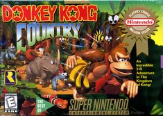 Donkey Kong Country SNES by Rare