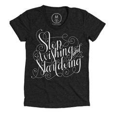 Cotton Bureau – Stop Wishing & Start Doing by Joy Kelley