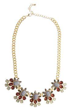 Primark - Chunky Pastel Gem Stone Necklace