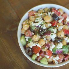 Delicious! Mediterranean Bean Salad