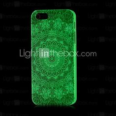 bagliore modello aztec nel caso duro scuro per il iphone 4 / 4s | MiniInTheBox