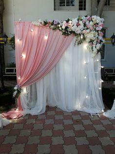 Wedding Backdrop Design, Desi Wedding Decor, Wedding Stage Decorations, Wedding Ceremony Backdrop, Engagement Decorations, Backdrop Decorations, Bridal Shower Decorations, Backdrops, Wedding Venues