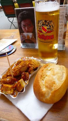 Currywurst..Berlin of course