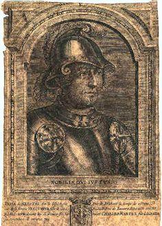 Mayor Pépin of Austasia born in Landen (Belgium)