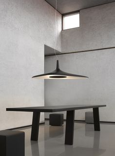 Luceplan hanglamp D89s Soleil Noir door Odile Decq | Designlinq