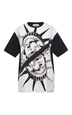 Statue Of Liberty Slash T-Shirt by  for Preorder on Moda Operandi