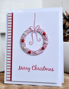 Inky Fingers: Happy Little Stampers Christmas card