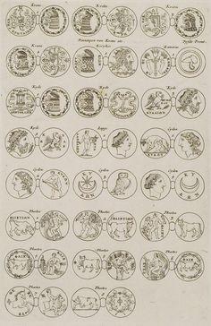 1688 Αρχαία νομίσματα της Κρήτης. - DAPPER, Olfert - ME TO BΛΕΜΜΑ ΤΩΝ ΠΕΡΙΗΓΗΤΩΝ - Τόποι - Μνημεία - Άνθρωποι - Νοτιοανατολική Ευρώπη - Ανατολική Μεσόγειος - Ελλάδα - Μικρά Ασία - Νότιος Ιταλία, 15ος - 20ός αιώνας