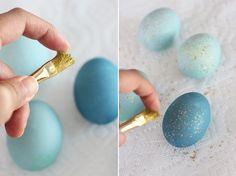 DIY Dyed Robin Eggs | HonestlyYUM